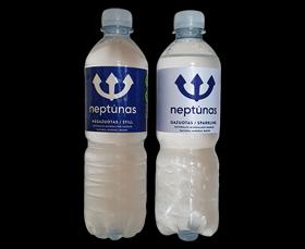 Neptūnas natūralus mineralinis vanduo (Gazuotas / negazuotas)